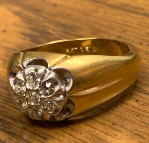 (RARE & VINTAGE) Elvis Presley 18k Gold Ring 1969-1977