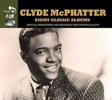 Clyde McPhatter EIGHT CLASSIC ALBUMS Love Ballads GREATEST HITS Ta Ta NEW 4 CD