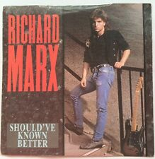 "Richard Marx - Should've Known Better - EMI Manhattan 7"" Single MT 32 EX/VG"
