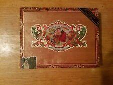 My Father Cigars Flor de Ias Antillas Empty Wooden Cigar Box Collectible