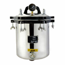 18L STEAM AUTOCLAVE STERILIZER TATTOO DENTAL LAB EQUIPMENT NEW TOP