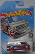 NEW 2019 Hot Wheels 23/250 Custom '77 Dodge Van #4/5 HW Super Chromes - NIB