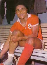 CALCIO Aral Bergmann WM Inghilterra 1966 eusèbio da Silva Ferreira Laboratório Portogallo