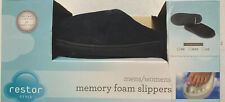 Restor Style Memory Foam Slippers Size Small 6/7 Men's/Women's Brand New