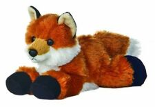 "FOX Mini Flopsie AURORA Foxxie 8"" Plush SOFT TOY New & with tags COLLECTOR"