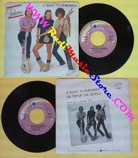 LP 45 7'' SHALAMAR A night to remember On top of the world 1982 no cd mc dvd