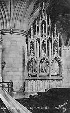 Gloucestershire - Tewkesbury Abbey, Spencer Tomb - Vintage Postcard