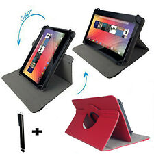 Tablet Tasche Hülle für Acer Iconia One 10 B3-A40 10.1 Zoll 360 Rot