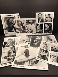 Son House Memphis Slim Lightnin' Hopkins more lot of 9 b/w Blues Legends photos