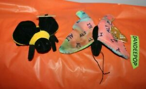 Salvino's Muhammad Ali Butterfly And Bee Bean Stuffed Animal Collectible Toys