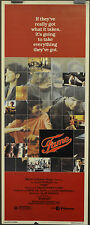 Fame 1980 Original 14X36 Film Poster Irene Cara Eddie Barth Lee Curreri