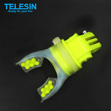 TELESIN Gopro Skating Shoot Surfing Mouth Mount Compatible with Gopro 2 3 3+ 4