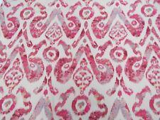 Wesley Barrell Curtain/Upholstery Fabric HOLIKA 2.6 METRES Terracotta Linen Mix