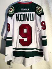 Reebok Premier NHL Jersey Minnesota Wild Mikko Koivu White sz M