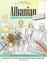 Albanian Picture Book Albanian Pictorial Dictionary Color and Learn