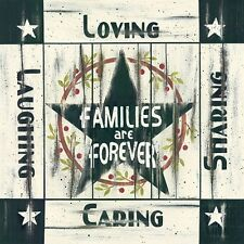 Linda Spivey Families are Forever Art Print 18 x 18