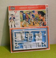 MODEL KIT AIRFIX 54mm 01555-8 AMERICAN SOLDIER 1775