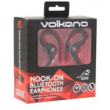 Volkano Boomerang Wireless Bluetooth Light Sports Ear-Hook Headphones with mic