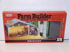 BRITAINS FARM #4708 ATCOST FARM BUILDING SET COMPLETE IN ORIGINAL BOX 1980s