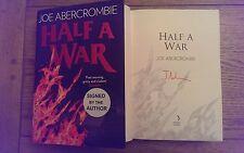 half a Guerra Por Joe Abercrombie Tapa Dura 2015 Book 1st Edición 1º Impresión