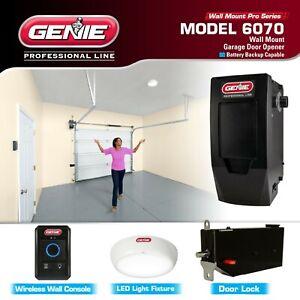 Genie Wall Mount Garage Door Opener Model 6070