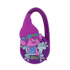 TROLLS DREAMWORKS CARABINER WATCH PRINCESS POPPY ALL AGE WATCH TIMEPIECE CLIP