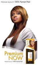 "Sensationnel Premium Now Human Hair Weave - Yaki Weave 14p"" #1B Off/Black"