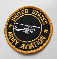 US ARMY AVIATION CHOPPER HELICOPTER EMBROIDERED PATCH 3 INCHES