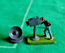 Subbuteo BBC Ground based camera+Satellite dish>>