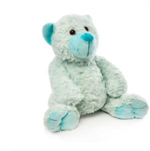 ROSETTE l Soft Blue Cuddly Teddy Bear  I 32cm I Birthday Present I Nursery