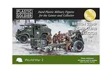 Plastic Solider Company BNIB British 25pdr and CMP Quad Tractor WW2G15006
