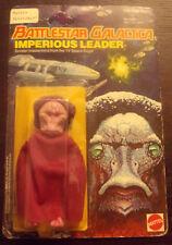Vintage 1978 Mattel Imperious Leader Figure Battlestar Galactica On Card