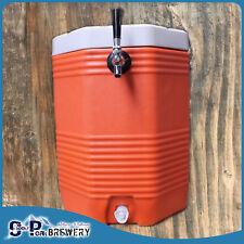 9L Keg Pack Complete With Premium Regulator + 40ltr Cooler & Built In Beer Tap