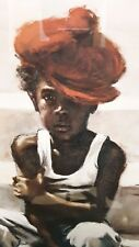 "JOSEPH HOLSTON CLASSIC ""BOY IN RED CAP"" ART PRINT"