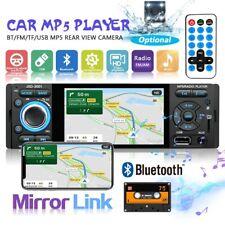 "4"" 1Din Radio de Coche Pantalla táctil FM MP3 MP5 Bluetooth Mirror Link USB TF"