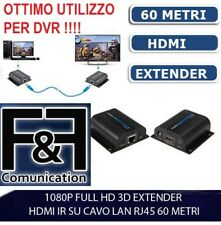 10AGPtek 60m LKV372PRO HDMI Network Extender sopra Cat6/ 6a cavo singolo