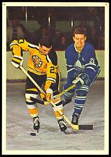 1963-64 TORONTO STARS IN ACTION JEAN GUY GENDRON BOSTON BRUINS HOCKEY PHOTO CARD