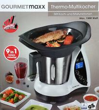 GOURMETMAXX Thermo-Multikocher 9in1 Küchenmaschine 1500 Watt Kochen Mixen NEU