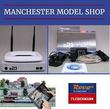 DCC Control Roco Fleischmann z21 Digital Central, WLAN Router Smartphone Tablet