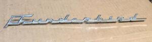 1961 & Other Ford THUNDERBIRD Fender Emblem OEM C1SB-
