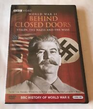 "World War II Behind Closed Doors (DVD, 2009) STALIN, THE NAZIS & THE WEST  ""NEW"""