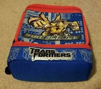 ZAK Insulated Lunch Bag Box Transformers Revenge of the Fallen BUMBLEBEE Clean