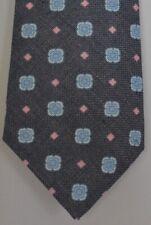 "Kiton Napoli Mens 7 Fold Handmade Thick Woven Tie NEW 59"" X 3.5"" SKU B32/30 $290"