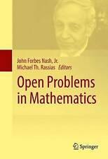 Open Problems in Mathematics by Springer International Publishing AG (Hardback, 2016)