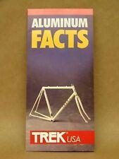 Trek Bicycle Frame Aluminum Brochure Road Mountian Bike 1000 8000XT 1500 1200