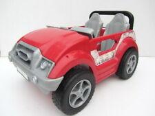 Barbie CALI GIRL BEACH CONVERTIBLE JEEP Red Car - Mattel (2004)