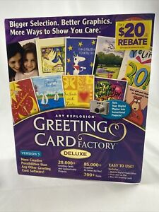 Brand New Greeting Card Factory Deluxe New Sealed Free Shipping
