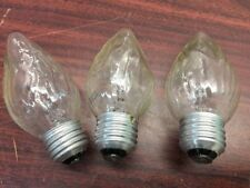 NOS~Vtg.~40W~G.E.candle Type Light Bulbs Tested-Standard Base