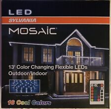 Sylvania mosaic 13' Color Changing Flexible led Light Strip Indoor/outdoor