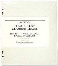 Scott Glassine Interleaving Square Post 3-Ring /2-Post Specialty / National 100
